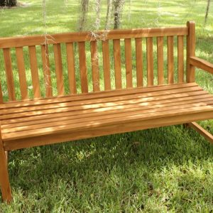 CLEARANCE Java 60in Teak Bench