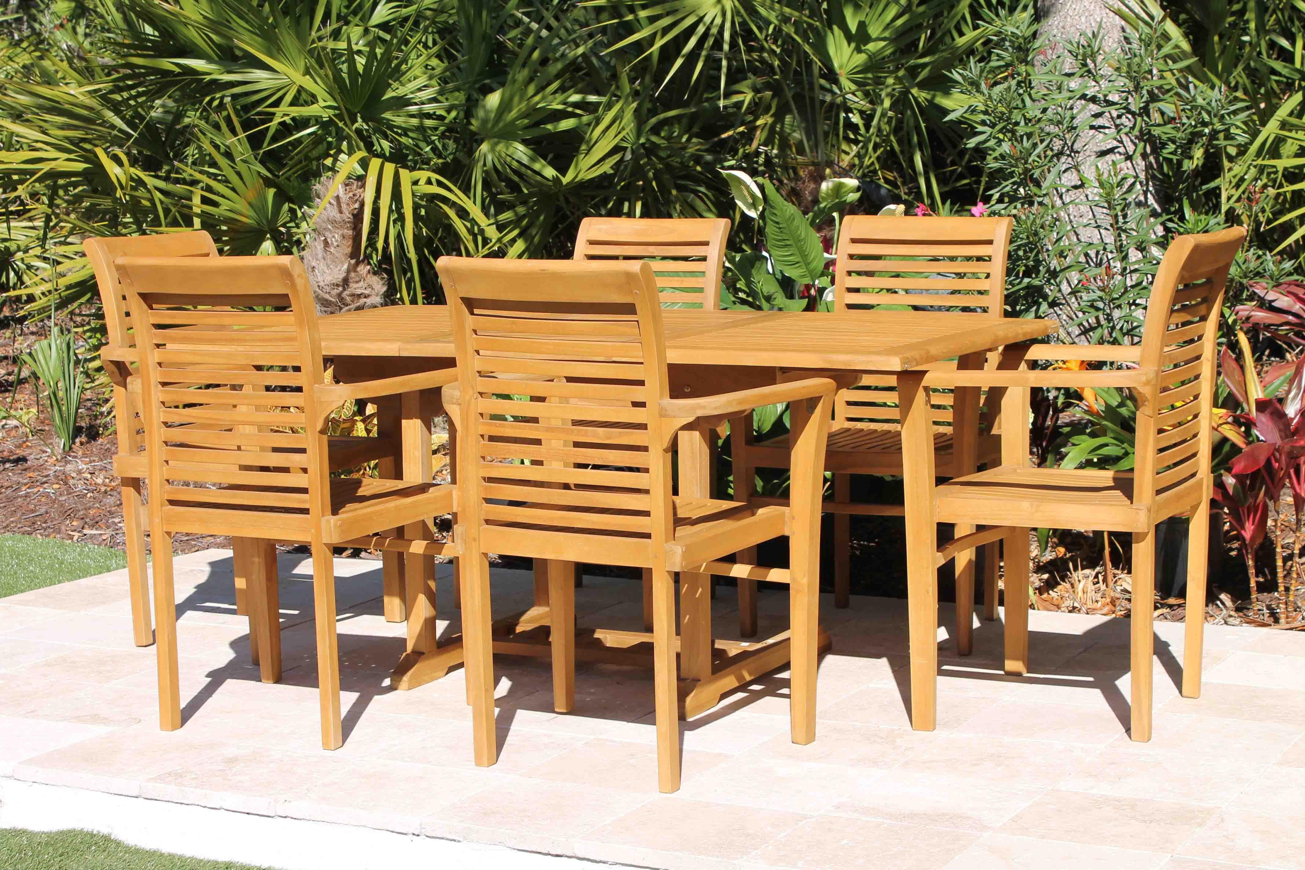 67in Rectangular Table U0026 Atlantic Chair ...