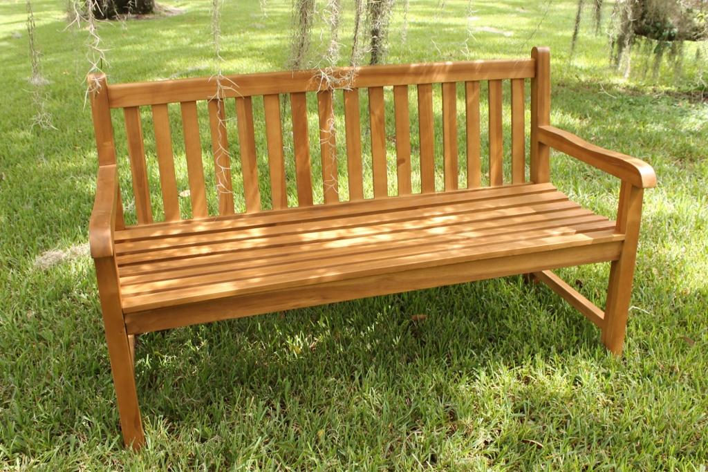 java bench 60in 2 - Teak Bench