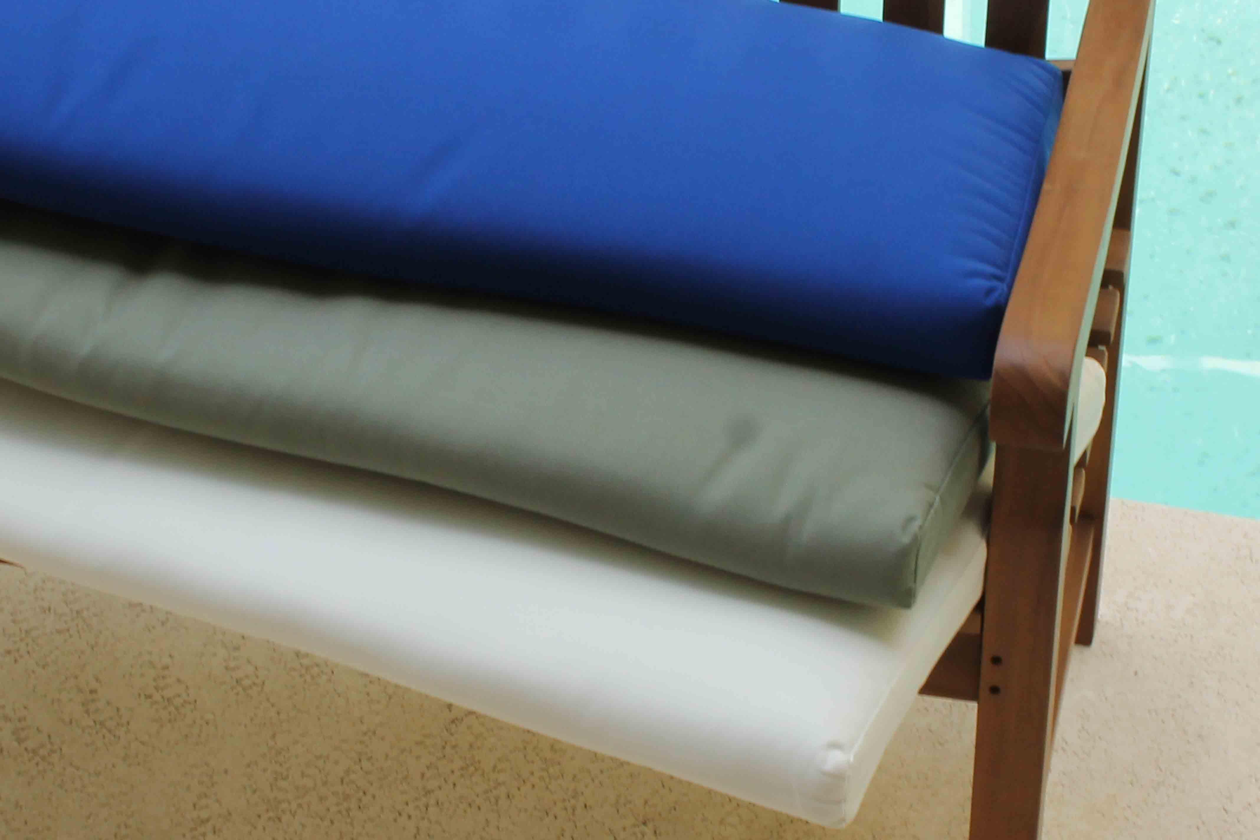 Sale Sunbrella 60in Bench Cushion Oceanic Teak Furniture
