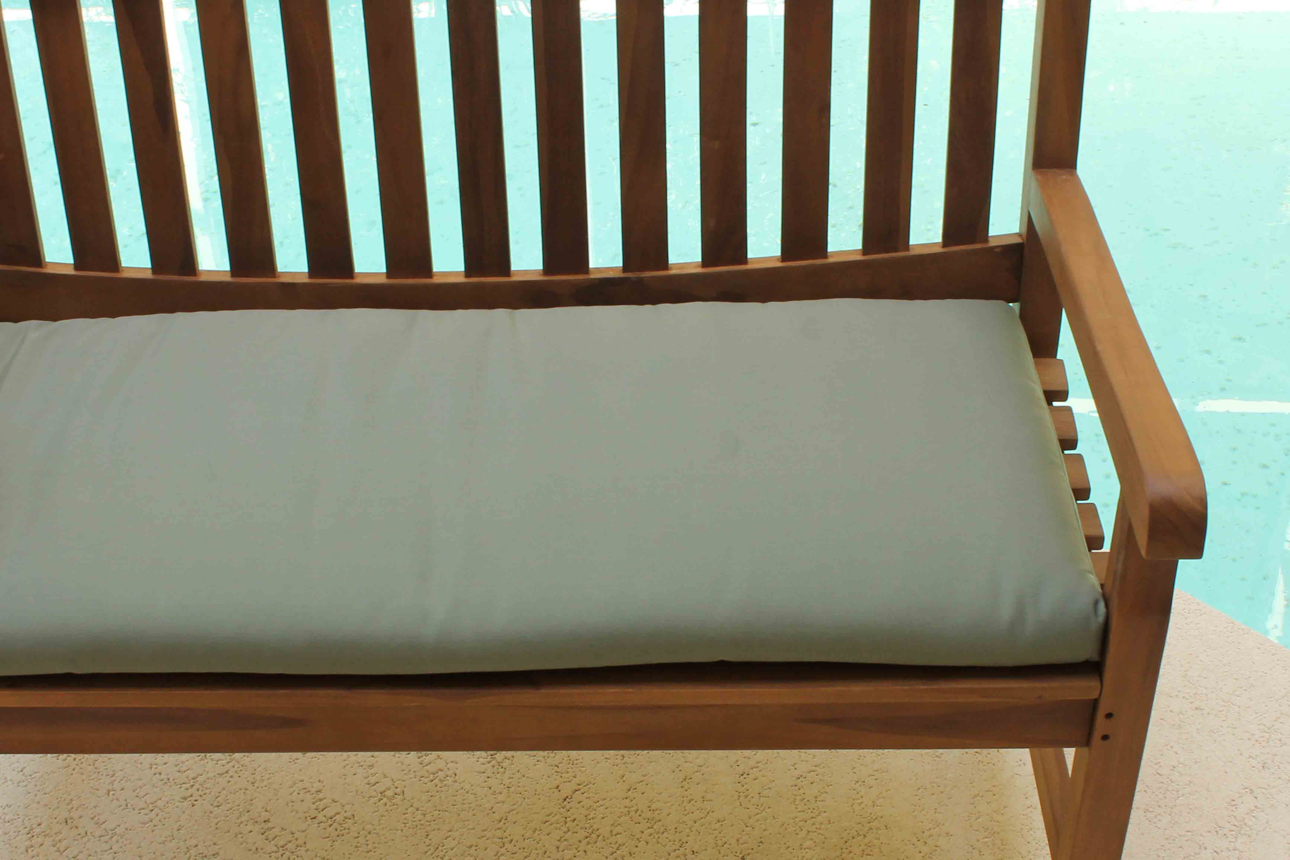 Sale Sunbrella 72in Bench Cushion Oceanic Teak Furniture