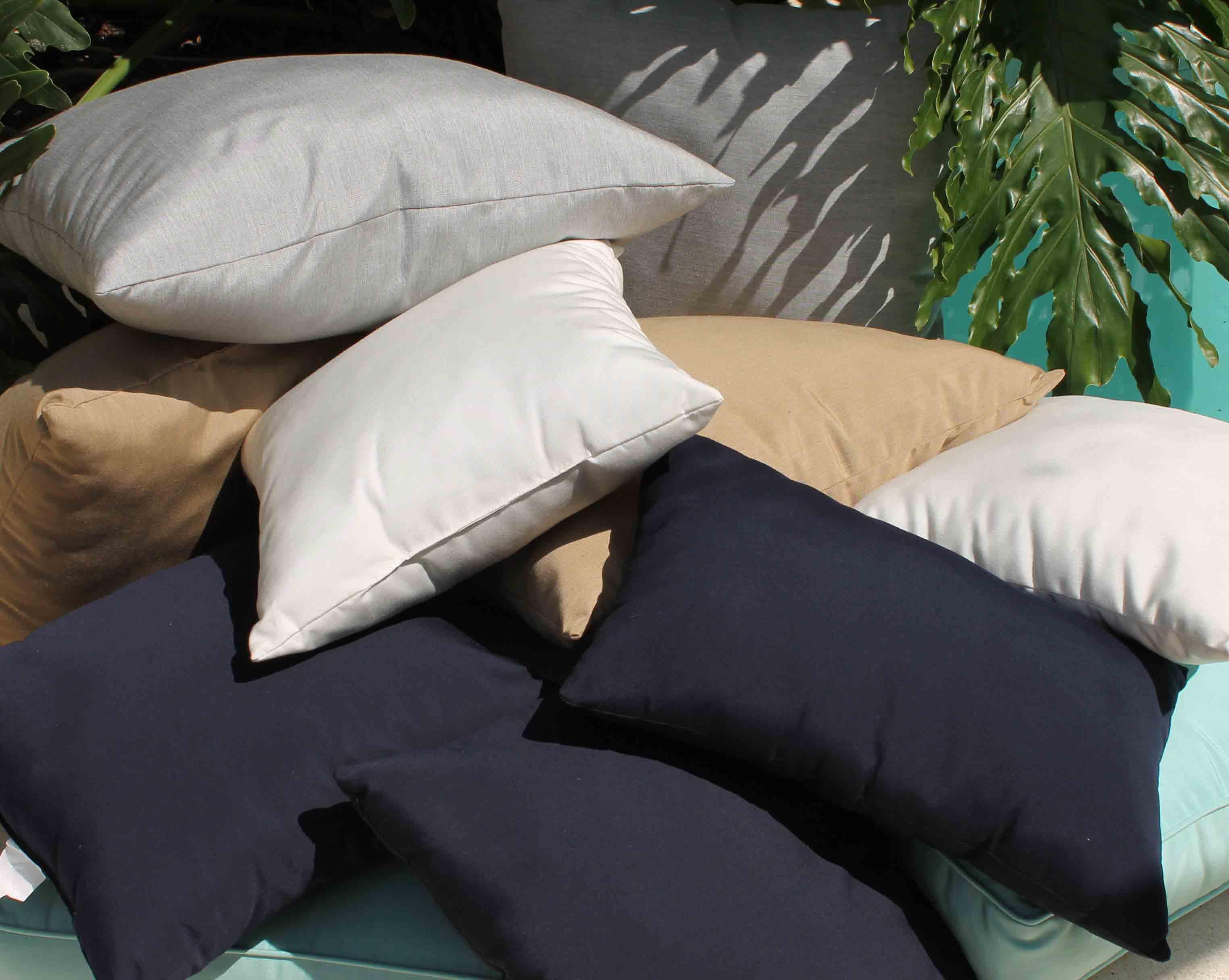Sunbrella Throw Pillows