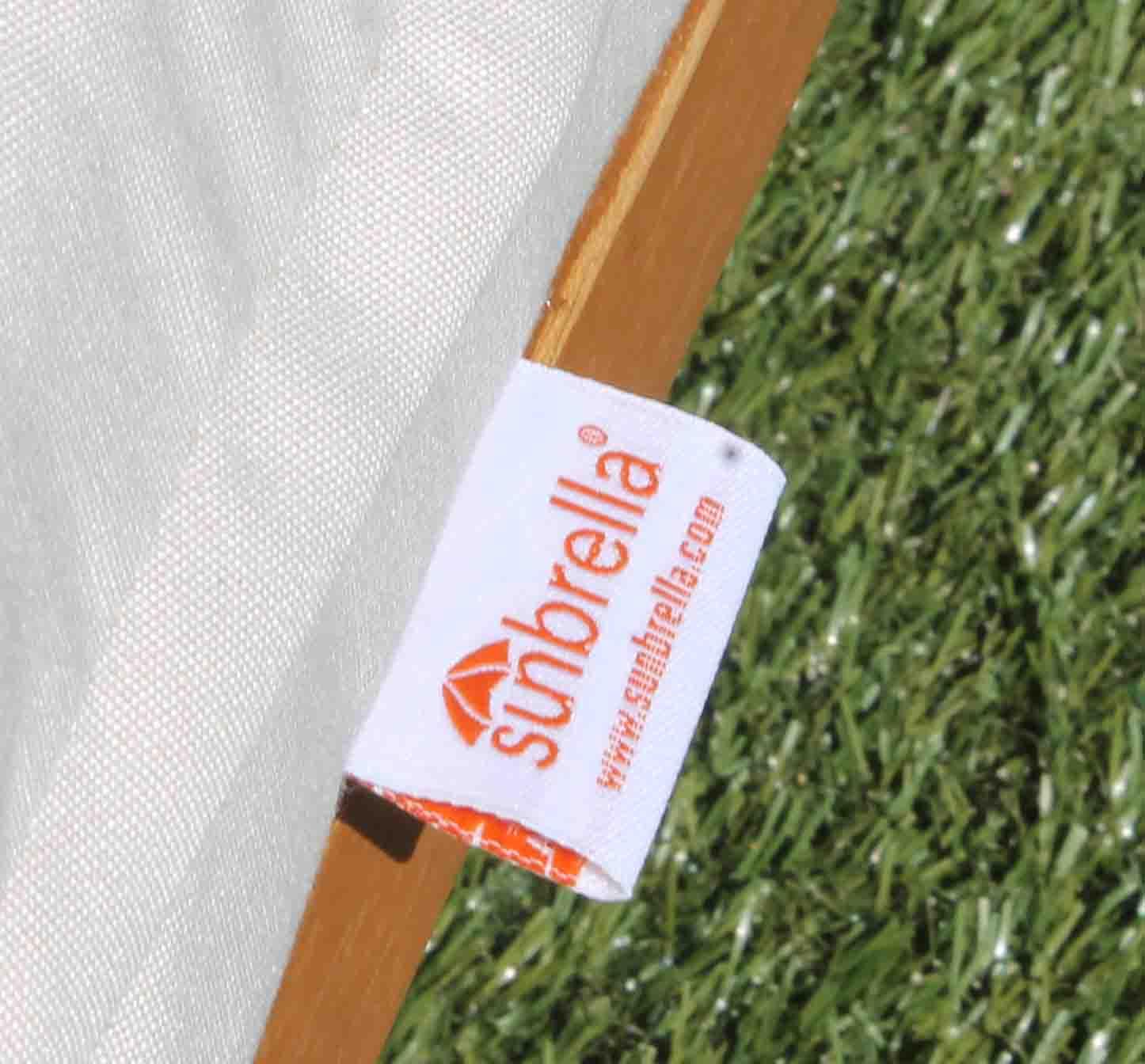 sale sunbrella fabric hampton chair cushion pad - Sunbrella Fabric