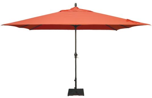 Sale 8ft X 10ft Rectangular Umbrella Sunbrella Fabric