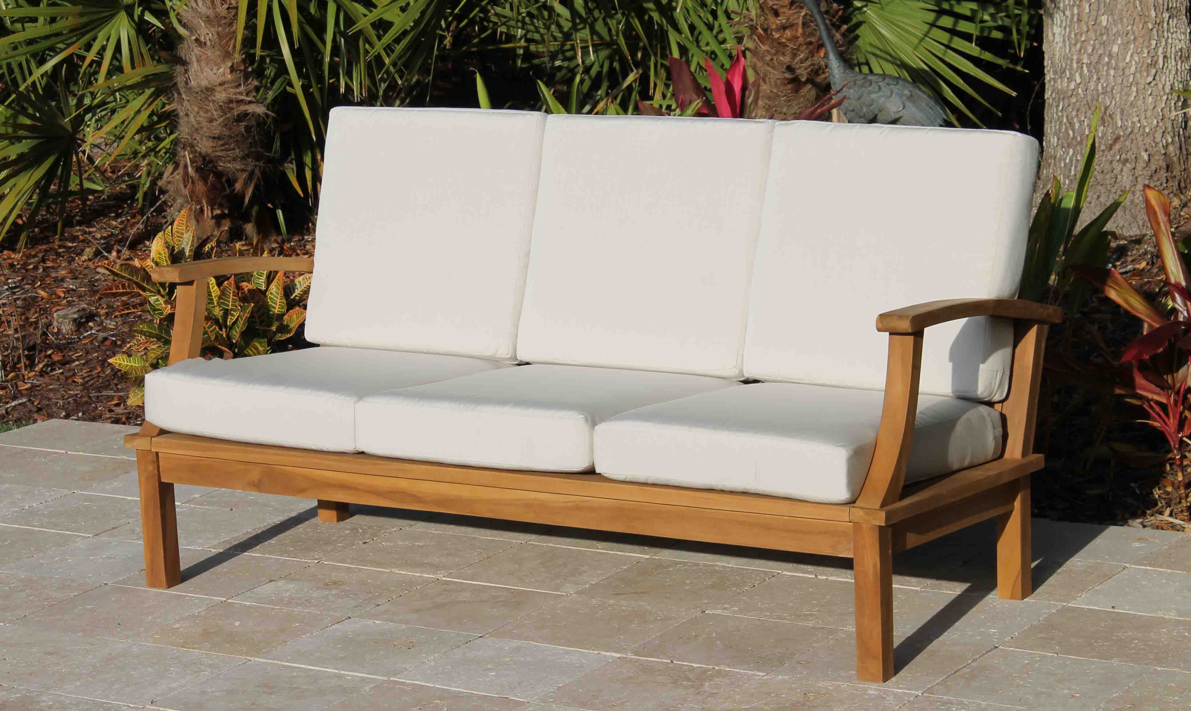 sofa three monterey casual reviews seating with cushions deep seated couch pdx wayfair birds outdoor