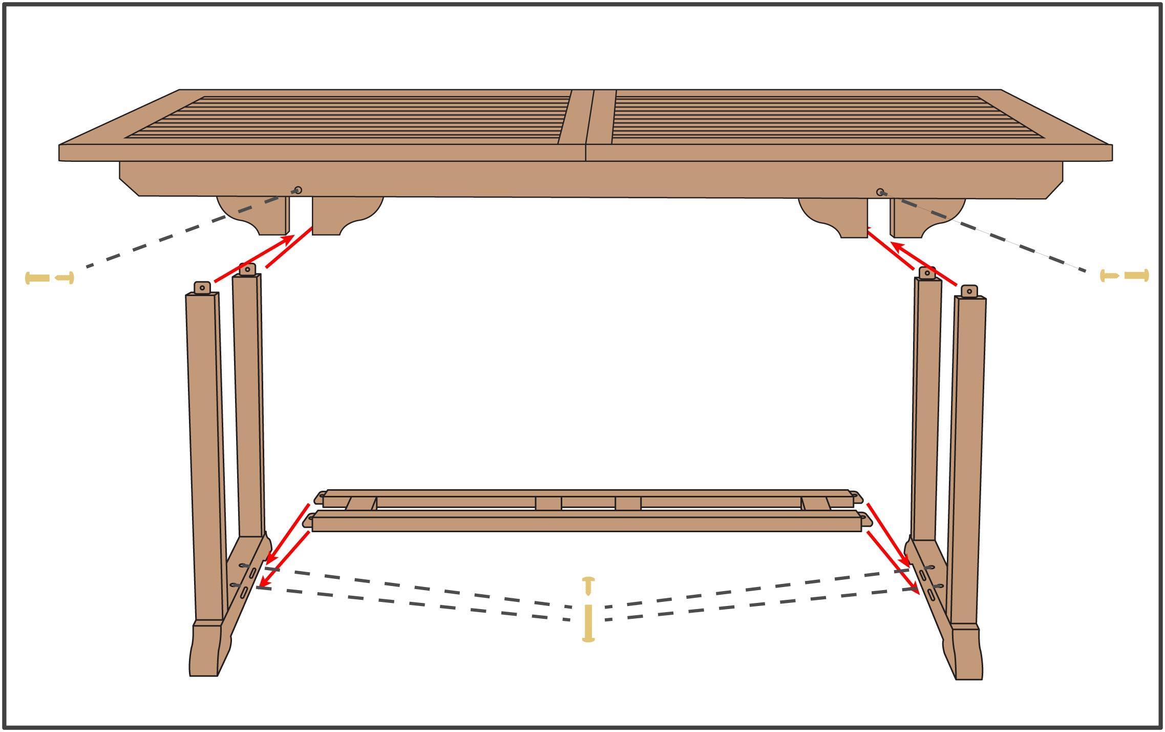 95in Rectangular Table 1