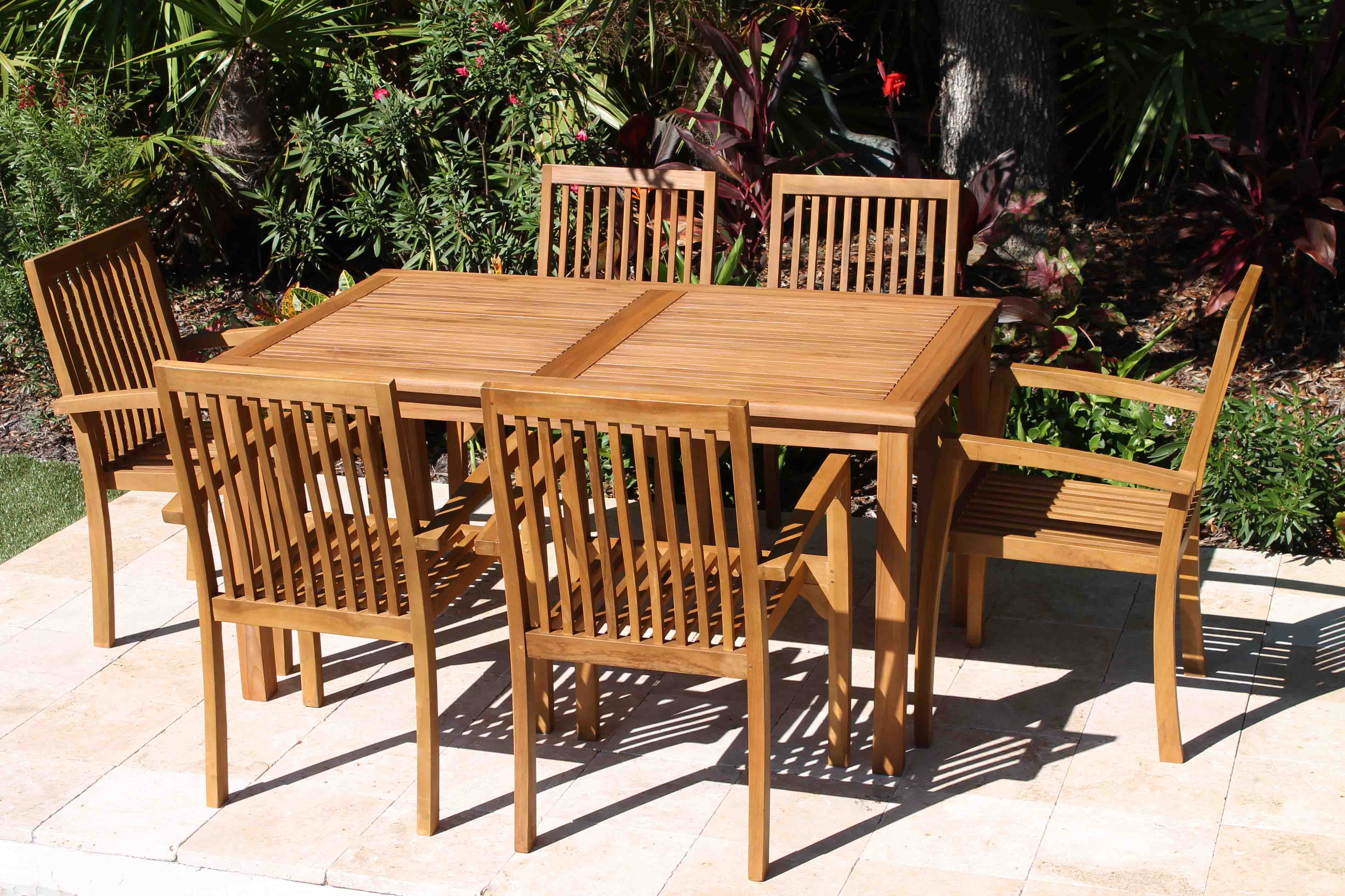 60in rect table and hampton chair set 1 furniture12 furniture