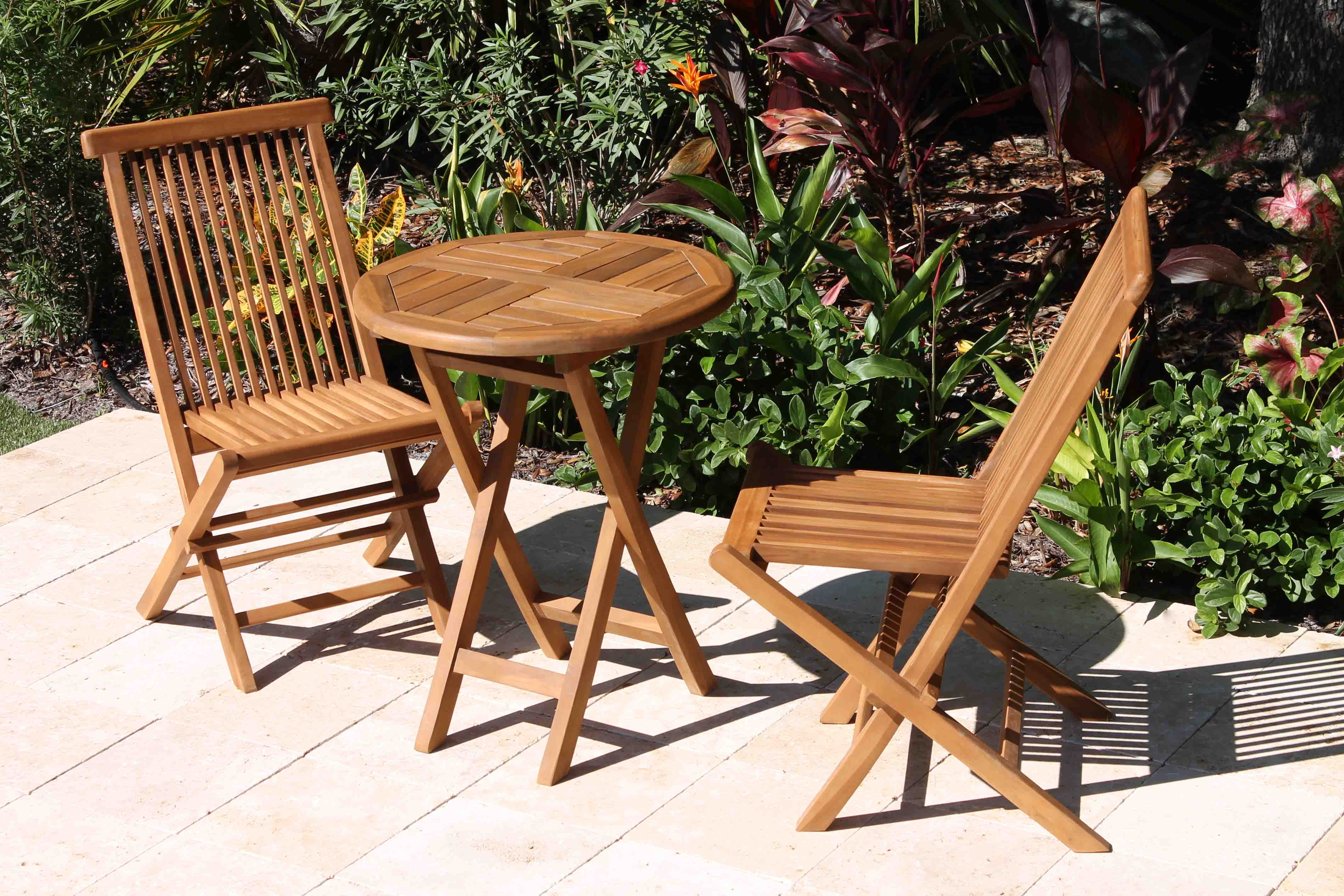 teak bistro table and chairs. Bistro Set 2 Teak Table And Chairs