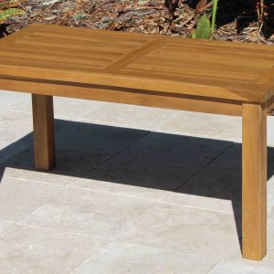 SALE Teak Coffee Table 36in