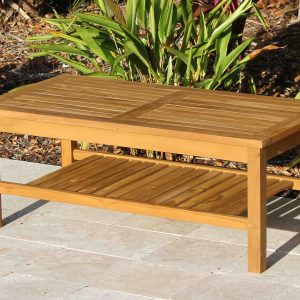 SALE Teak Coffee Table 48in