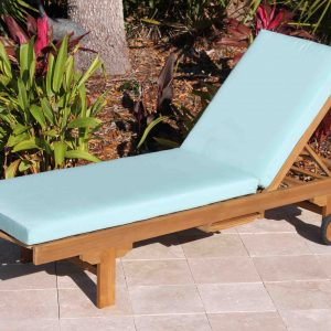 SALE Sunbrella Fabric Chaise Lounge Cushion