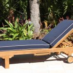 SALE Chaise Lounger Cushion