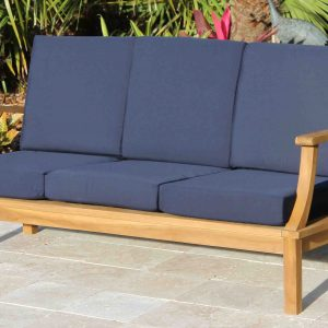 Deep Seat Teak Sofa Including Full Cushions