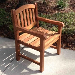 SALE Java Oval Teak Armchair