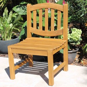 SALE Java Oval Teak Chair