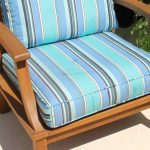 Teak Sectional Left Arm Chair Incl Full Sunbrella Cushions