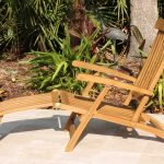 SALE Teak 'Steamer' Lounger