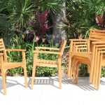 SALE 72in Rectangular Table & 6 Arizona Armchair Teak Set