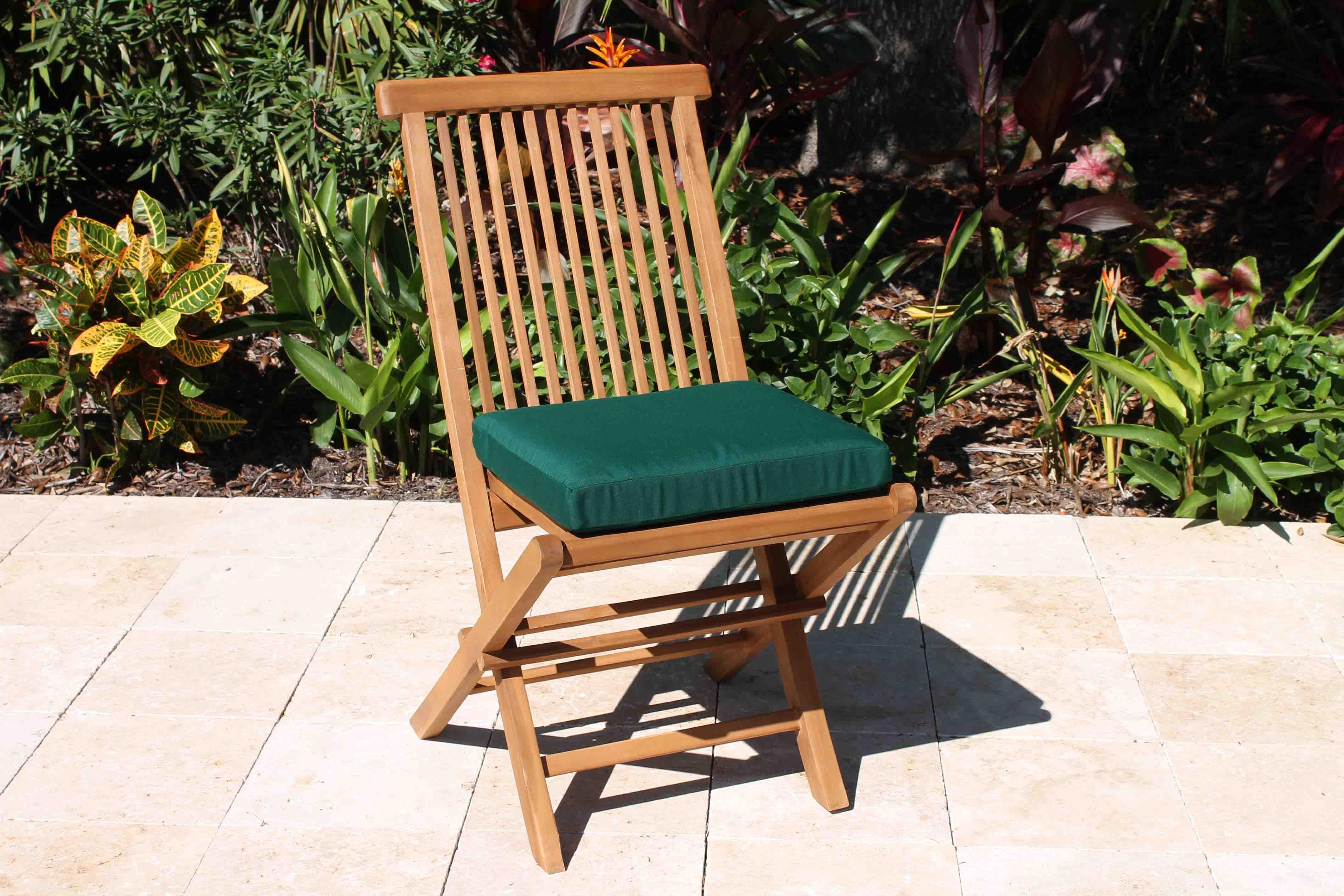 Sunbrella Fabric Folding Chair Cushion Pad