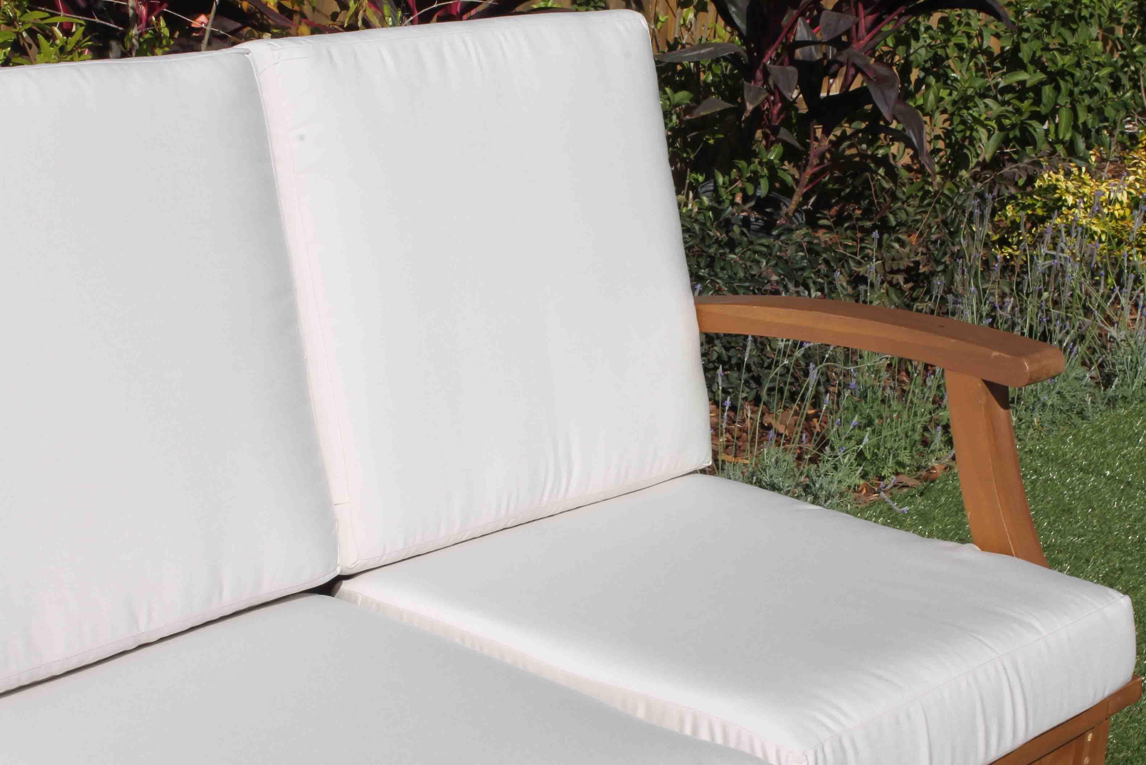 Deep Seat Teak Set – 5 Seat including Full Sunbrella Cushions